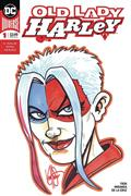 DF Old Lady Harley #1 Sgn Rmrk Haeser (C: 0-1-2)
