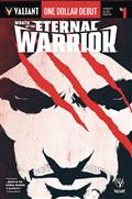One Dollar Debut Wrath Eternal Warrior #1