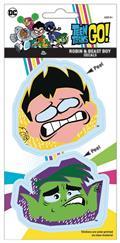 DC Teen Titans Go Robin & Beast Boy Vinyl Decal (C: 1-1-1)