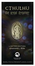 Cthulhu Great Dreamer Limited Edition Enamel Pin (C: 1-1-2)