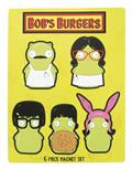 Bobs Burgers Kuchi Kopi Family 6Pc Magnet Set (C: 1-1-2)