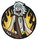 Rick And Morty Rocker Rick Patch (C: 1-1-2)