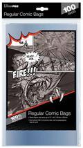 Regular Size Comic Bags 100 Ct Pack (Net)