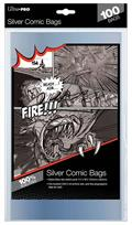 Silver Age Size Comic Bags 100 Ct Pack (Net)