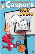 Casper And Hot Stuff #1 Scherer Mischief Cvr