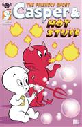 Casper And Hot Stuff #1 Wolfer Bubbles Cvr