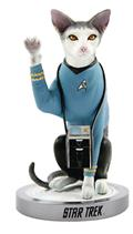 Star Trek Tos Spock Cat Polystone Statue (C: 1-1-2)