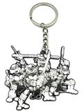 TMNT Mirage Comics Issue #1 All Four Turtles Keychain (C: 1-