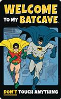 DC Batman Welcome To The Batcave Tin Sign (C: 1-1-2)