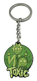 Rick And Morty Toxic Enamel Keychain (C: 1-1-2)
