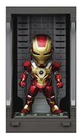 Iron Man 3 Mea-022 Iron Man Mk Xvii W/ Hall of Armor Fig (C: