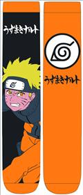 Naruto Naruto & Leaf Village Symbol Crew Socks 2Pk (C: 1-1-2