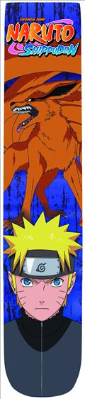 Naruto Shippuden Logo Photoreal Crew Socks (C: 1-1-2)