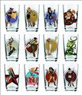 Toon Tumblers Bombshells Hawkgirl Pint Glass (Aug142655) (C: