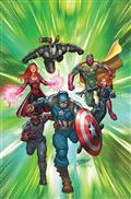 Captain America Road To War #1