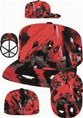 Deadpool All Over 5950 Fitted Cap 7 1/8 (C: 1-1-2)