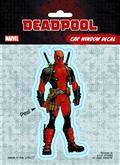 Deadpool Standard Vinyl Decal (C: 1-1-1)