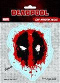 Deadpool Splatter Logo Vinyl Decal (C: 1-1-1)