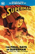 Superman The Final Days of Superman TP *Special Discount*