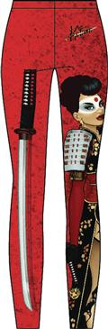 DC Bombshells Katana Sublimated Leggings Lg (C: 1-1-2)