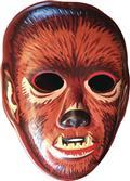 Ghoulsville Bloody Werewolf Vac-Tastic Plastic Mask (C: 0-1-