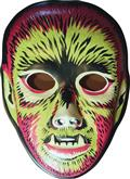Ghoulsville Electric Wolfman Vac-Tastic Plastic Mask (C: 0-1