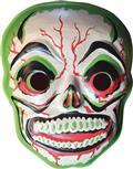 Ghoulsville Green Slime Skull Vac-Tastic Plastic Mask (C: 0-