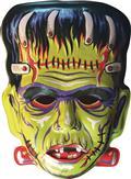 Ghoulsville Big Frankie Vac-Tastic Plastic Mask (C: 0-1-2)