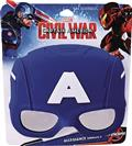 Captain America Sunstaches Sunglasses (C: 1-1-0)