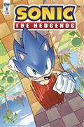 Sonic The Hedgehog #1 Cvr A Hesse (C: 1-0-0)