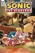 Sonic The Hedgehog #2 Cvr B Thomas (C: 1-0-0)