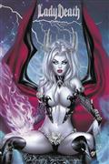 Lady Death Unholy Ruin #1 Ebas Premium Foil Var (MR)