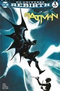 DF Batman Rebirth #1 DF Cover Plus 1 Package (C: 0-1-2)