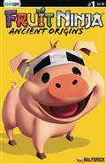 Fruit Ninja Ancient Origins #1 Cvr C Truffles The Pig Halfbr