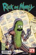 Rick & Morty #37 Cvr B Vasquez Var