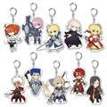 Pikuriru Fate Grand Order Vol 1 10Pc Trading Keychain Dis (C