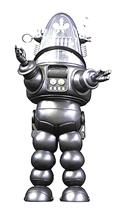 Forbidden Planet Robby Robot Silver Die Cast PX Fig (C: 0-1-