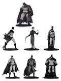 Batman Black & White Mini Pvc Figure 7 Pack Set 3