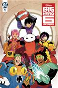 Big Hero 6 The Series #1 Cvr A Gurihiru (C: 1-0-0)
