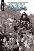 Xena Warrior Princess #1 20 Copy Lupacchino B&W Incv (Net)