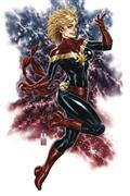 DF Captain Marvel #1 Brooks Virgin Sketch Art Exc