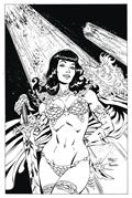 DF Betty Page Unbound #1 Rare Virgin B&W Exc