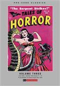 Pre Code Classics Tales of Horror HC Vol 03 (C: 0-1-1)