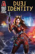 Duel Identity #1 White Widow Cvr