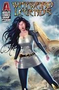 Wayward Legends #1 White Widow Cvr