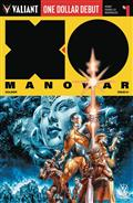 One Dollar Debut X-O Manowar (2017) #1