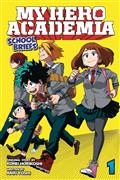 My Hero Academia SChool Briefs Novel SC Vol 01 (C: 1-0-1)