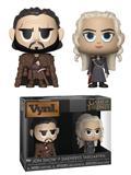 Vynl Got Jon Snow & Daenerys Targaryen Vin Fig 2Pk (C: 1-1-2