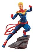 Marvel Comics Avengers Series Captain Marvel Artfx+ Statue (