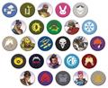 Overwatch 1.25 In Pin 40 Pcs Bmb Ds (C: 1-1-2)
